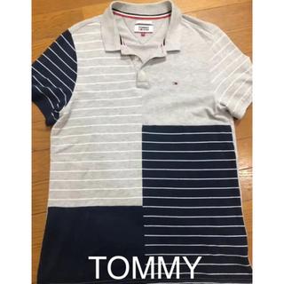 トミー(TOMMY)のTommy! トミー ジーンズボーダーポロシャツ ゴルフウェア(ポロシャツ)