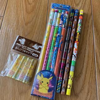ショウワノート(ショウワノート)の鉛筆、レトロポケモン キャップ セット(鉛筆)