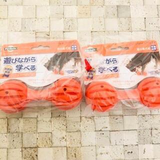リッチェル(Richell)の2個セット リッチェル ビジーバディ ワグル SS オレンジ 知育玩具 2(犬)