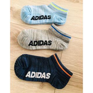 アディダス(adidas)のアディダス adidas くつ下 19〜21(靴下/タイツ)