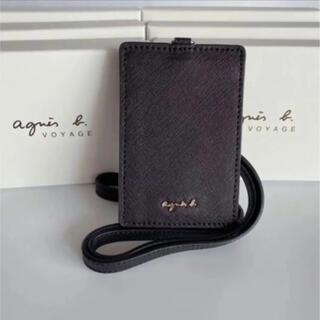 agnes b. - 新品 アニエスベー IDパスケース 社員証 定期入れ