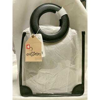 キャセリーニ(Casselini)のCasselini クリアーハンドバッグ 新品未使用(ハンドバッグ)