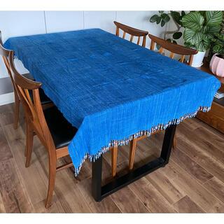 ロンハーマン(Ron Herman)の新品未使用 Malaika マライカ購入 アフリカ生地デニムカラーテーブルクロス(テーブル用品)