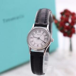 ティファニー(Tiffany & Co.)の箱付き【新品電池】Tiffany& Co./アラビア ヴィンテージ 動作良好(腕時計)