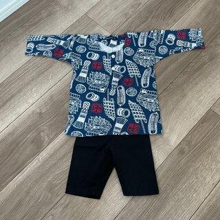ブリーズ(BREEZE)の鯉口シャツ ダボシャツ お祭り着 95cm(甚平/浴衣)