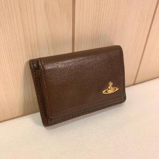 Vivienne Westwood - ヴィヴィアンウエストウッド ゴールドオーブ 三つ折り財布 ウォレット