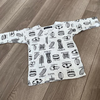 ブリーズ(BREEZE)の鯉口シャツ ダボシャツ お祭り着♡80cm(甚平/浴衣)