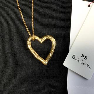 ポールスミス(Paul Smith)の完売商品❗️新品タグ付 ポールスミス   ハート ネックレス(ネックレス)