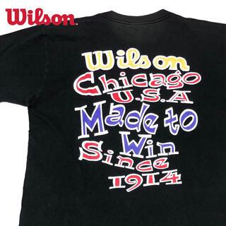 ウィルソン(wilson)の*1884 90s WILSON ウィルソン プリント Tシャツ(Tシャツ/カットソー(半袖/袖なし))
