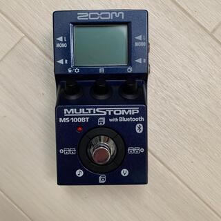 ズーム(Zoom)のZOOM MULTISTOMP MS100-BT エフェクター エレキギター(エフェクター)