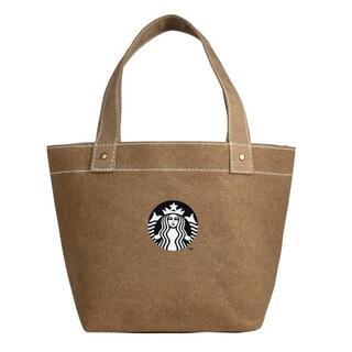 スターバックスコーヒー(Starbucks Coffee)のスターバックス :トートバッグ サイレン 茶色 スタバ 台湾 限定商品 帆布(トートバッグ)