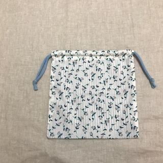 ボンポワン(Bonpoint)のリバティー柄 巾着袋 ハンドメイド(外出用品)