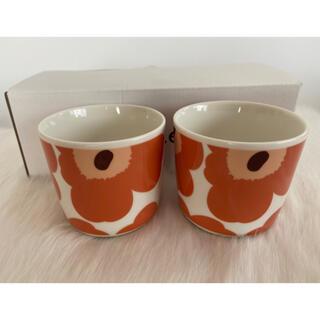 マリメッコ(marimekko)のマリメッコ ラテマグ ウニッコ 2個セット 新作(マグカップ)