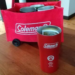 コールマン(Coleman)のColeman 真空断熱 タンブラー 380ml 赤 新品(タンブラー)