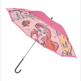Disney - <新品>アリエル ジャンプ式傘 晴雨兼用 リトルマーメイド ディズニーストア