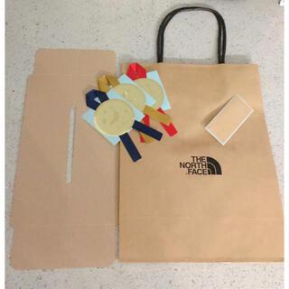 THE NORTH FACE - ショップ袋 紙袋 ノースフェイス ショッパー リボン ギフトラッピング