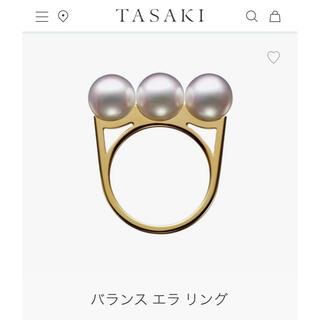 タサキ(TASAKI)のTasaki Balance Era 11号 YG リング(リング(指輪))