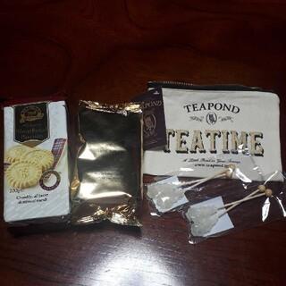 リントンズ 紅茶と焼き菓子 + teapond グッズ(茶)