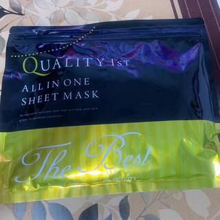 クオリティファースト(QUALITY FIRST)のオールインワンシートマスクベストEXS20枚入り美容液フェイスパック(パック/フェイスマスク)