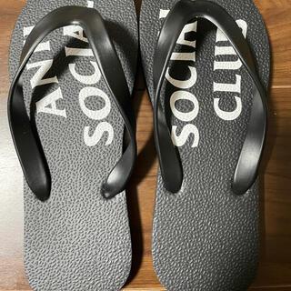 ネイバーフッド(NEIGHBORHOOD)のASSCアンチソーシャルソーシャルクラブ beach sandals(サンダル)