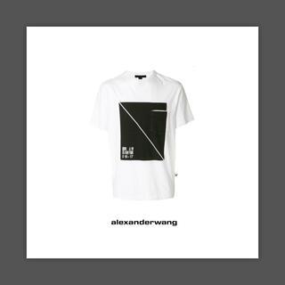 アレキサンダーワン(Alexander Wang)のAlexander Wang  アレキサンダー ワン Box Print Tee(Tシャツ/カットソー(半袖/袖なし))