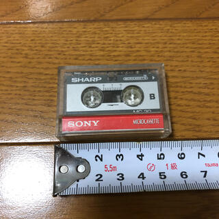 シャープ(SHARP)のシャープ マイクロカセットテープ(その他)