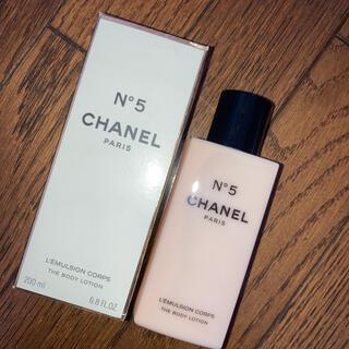 シャネル(CHANEL)のCHANEL N°5  ボディークリーム(ボディローション/ミルク)