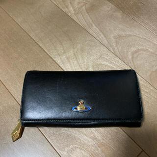ヴィヴィアンウエストウッド(Vivienne Westwood)の正規店購入 美品 Vivienne Westwood 長財布「BLACK」(長財布)