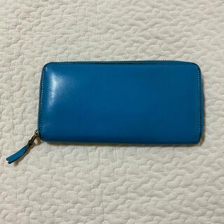 COMME des GARCONS - コムデギャルソン 長財布 ブルー