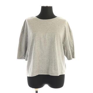 イエナスローブ(IENA SLOBE)のイエナ スローブ ビッグクロップドTシャツ カットソー 半袖 グレー(その他)