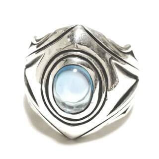 エムズコレクション(M's collection)のエムズコレクション シルバー925 ブルートパーズ シルバーリング アクセサリー(リング(指輪))