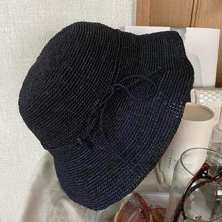 ムジルシリョウヒン(MUJI (無印良品))のストローハット 麦わら帽子(麦わら帽子/ストローハット)