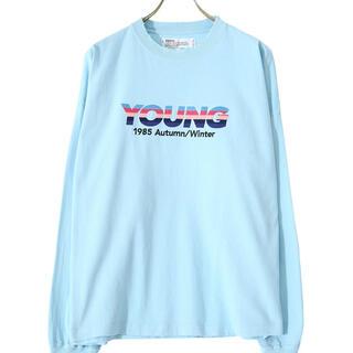 """ジエダ(Jieda)のDAIRIKU 21AW """"YOUNG"""" Embroidery Tee(Tシャツ/カットソー(七分/長袖))"""