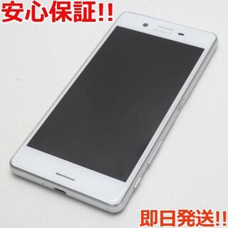 エクスペリア(Xperia)の美品 SO-04H Xperia X Performance ホワイト (スマートフォン本体)