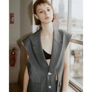 マルタンマルジェラ(Maison Martin Margiela)のsoduk 20ss open slit jacket ベスト ジャケット(ベスト/ジレ)