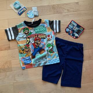 バンダイ(BANDAI)のスーパーマリオ 光る パジャマ 110(パジャマ)