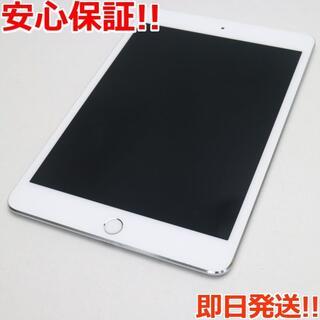 アップル(Apple)の美品 docomo iPad mini 4 16GB シルバー (タブレット)