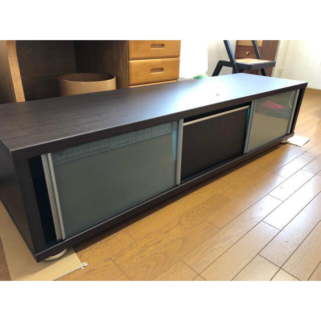ニトリ(ニトリ)のテレビ台 テレビボード リビングボード ローボード インテリア 家具 ウッド調 インテリア/住まい/日用品の机/テーブル(ローテーブル)の商品写真