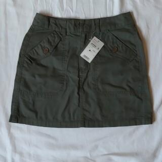 ユニクロ(UNIQLO)のミニタリーフラップスカート(ミニスカート)
