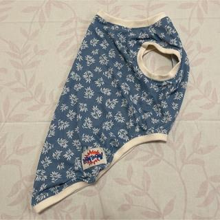 中型犬服(4Lサイズ)リーフブルー(COOL)(犬)