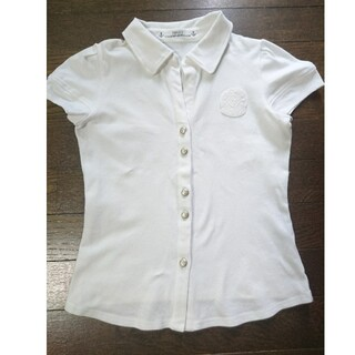 FOXEY - フォクシー yokohama motomachi ホワイト ポロシャツ 刺繍ロゴ