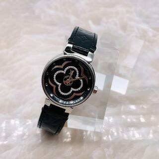 ルイヴィトン(LOUIS VUITTON)の★LouisVuitton★ タンブール ムーンディヴァイン28 ダイヤ 腕時計(腕時計)