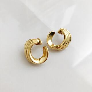 アッシュペーフランス(H.P.FRANCE)のVintage * Monet * gold pierce(ピアス)