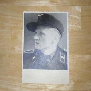 ナチスドイツ時代 ポートレート  写真 陸軍戦車兵(その他)