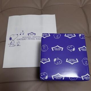 スヌーピー(SNOOPY)のガトーフェスタ ハラダ スヌーピーデザイン ラスク ミニ缶(菓子/デザート)