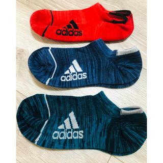 アディダス(adidas)のアディダス adidas くつ下 21〜23(靴下/タイツ)