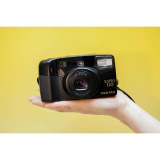 PENTAX - 【完動品】 Pentax Espio 110 ブラック 人気で使いやすいカメラ
