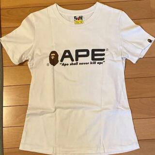 アベイシングエイプ(A BATHING APE)のエイプ レディースTシャツ(Tシャツ(半袖/袖なし))