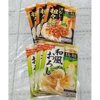 キッコーマン☆具麺☆汁なし担々麺和風おろし 各3袋