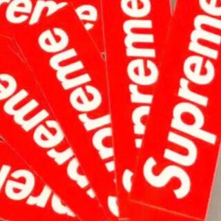 シュプリーム(Supreme)のSupreme ステッカー box logo シュプリーム(その他)